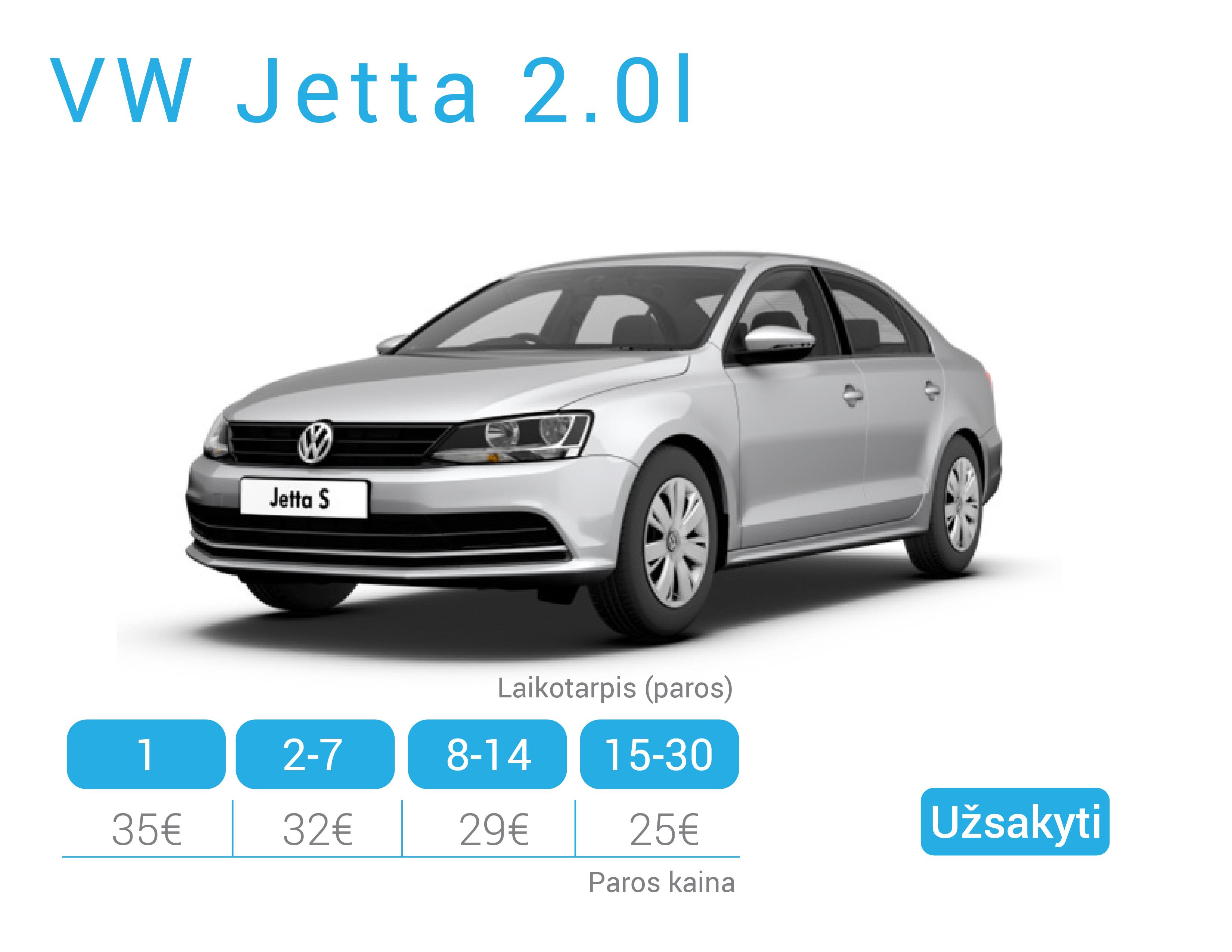 VW Jetta nuoma Alytuje